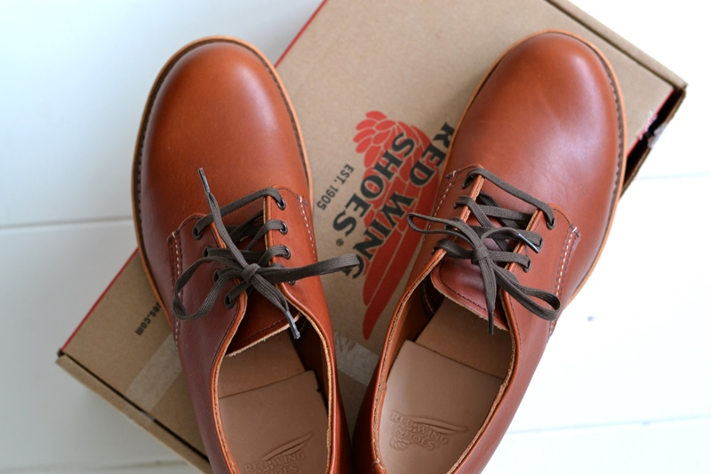 red wing 8052 oxford brick long john blog warenmagazijn footwear shoes brown usa goodyear welted sole new 2015 handmade craftsmanship laces (10)