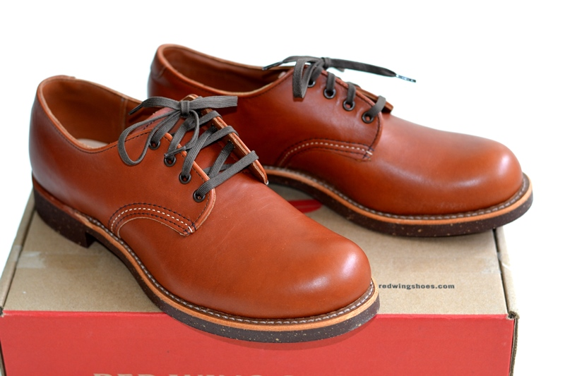 red wing 8052 oxford brick long john blog warenmagazijn footwear shoes brown usa goodyear welted sole new 2015 handmade craftsmanship laces (3)