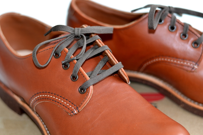 red wing 8052 oxford brick long john blog warenmagazijn footwear shoes brown usa goodyear welted sole new 2015 handmade craftsmanship laces (4)