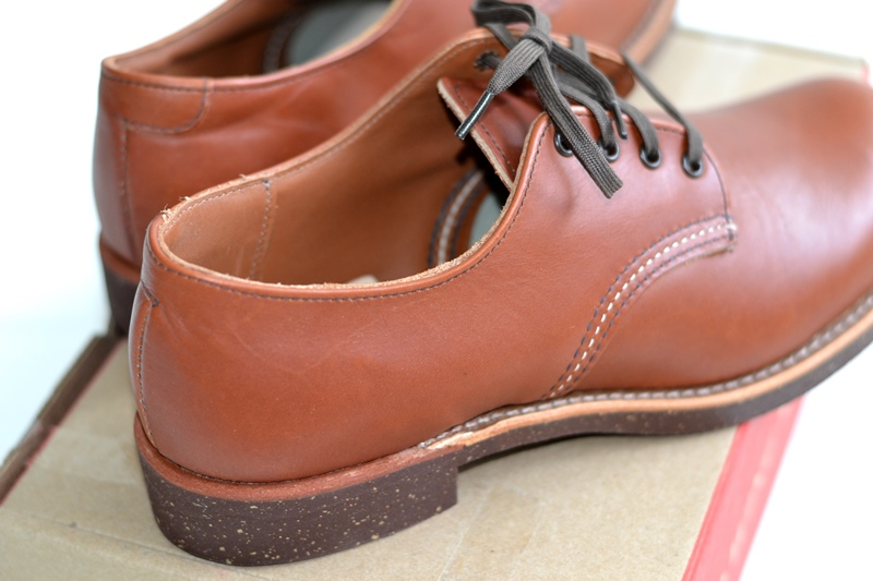 red wing 8052 oxford brick long john blog warenmagazijn footwear shoes brown usa goodyear welted sole new 2015 handmade craftsmanship laces (5)