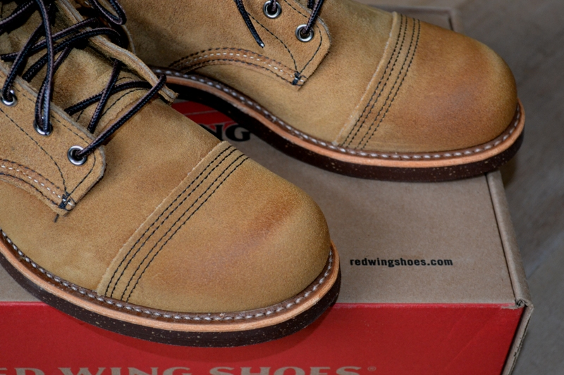 red wing 8113 iron ranger shoes long john blog warenmagazijn online store shop redwing usa handmade goodyear welted brown boots miners workers workwear jeans denim  (15)