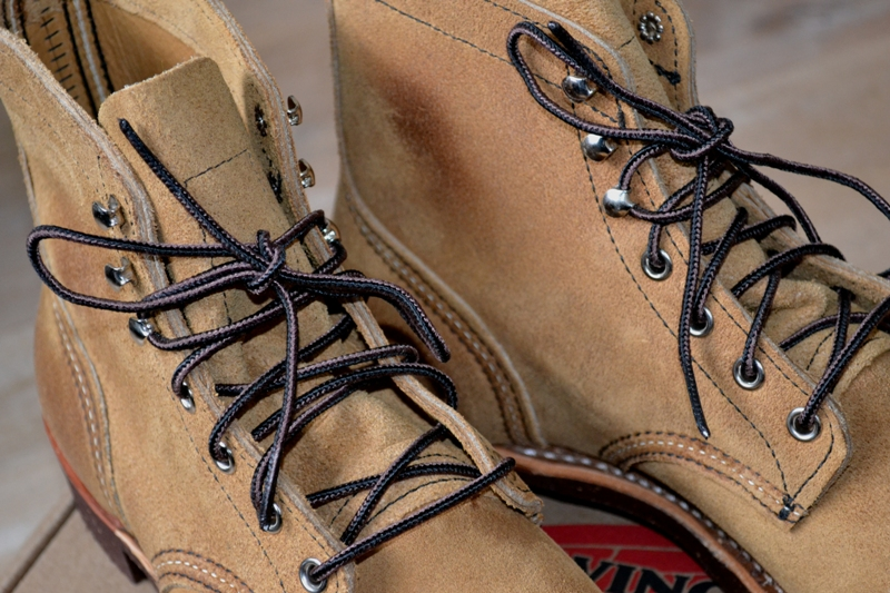 red wing 8113 iron ranger shoes long john blog warenmagazijn online store shop redwing usa handmade goodyear welted brown boots miners workers workwear jeans denim  (17)