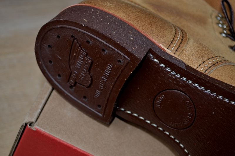 red wing 8113 iron ranger shoes long john blog warenmagazijn online store shop redwing usa handmade goodyear welted brown boots miners workers workwear jeans denim  (18)
