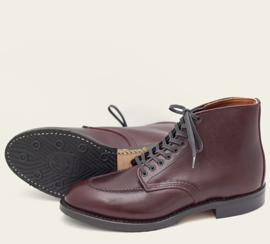 red wing 9091 black cherry featherstone boots long john blog michael van hal