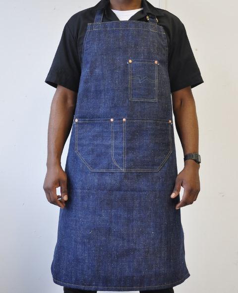 rest denim long john blog london jeans fabric japan handmade uk toby selvage selvedge rigid unwashed blue indigo schort handgemaakt spijkerbroek blauw rivets rivet stitching chain  (1)