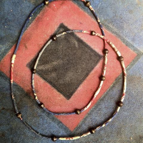 samrobertsla necklaces long john blog vintage stuff clothing rare treasures laces neck indigo handmade vintage blue (2)
