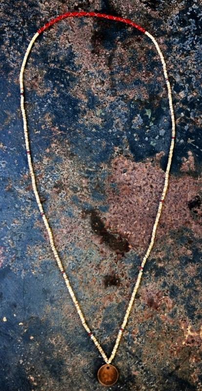 samrobertsla necklaces long john blog vintage stuff clothing rare treasures laces neck indigo handmade vintage blue (4)