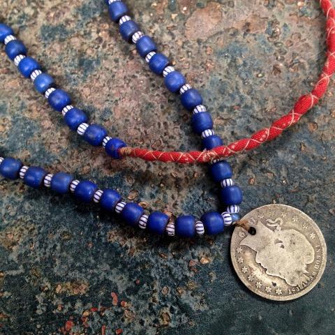 samrobertsla necklaces long john blog vintage stuff clothing rare treasures laces neck indigo handmade vintage blue (6)