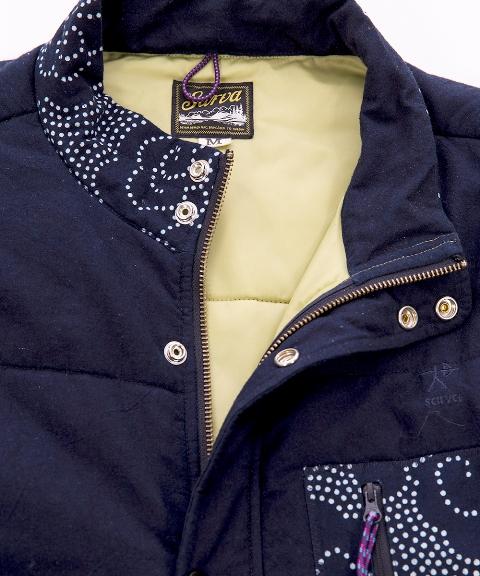 sarva clothing sweden waistcoat long john blog indigo blue denim jeans handmade fall winter 2015 sweden se brands brand oskar summerland lining bodywarmer  (1)