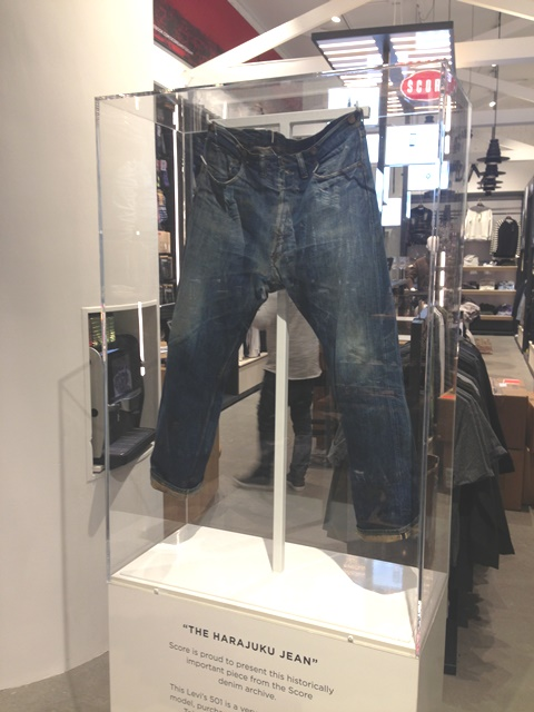 score kalverstraat amsterdam long john blog denim jeans levis levi strauss 1927 501 501XX yutaka fujihara japan tokyo berberjin vintage 2015 collection worn old  (7)