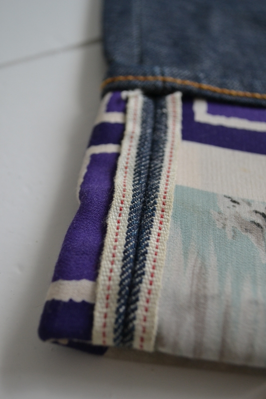 selvage selvage sunday long john blog raw denim jeans self-edge fabric japan kurabo cone mills usa turn-up rock and roll fifties authentic style japan (5)
