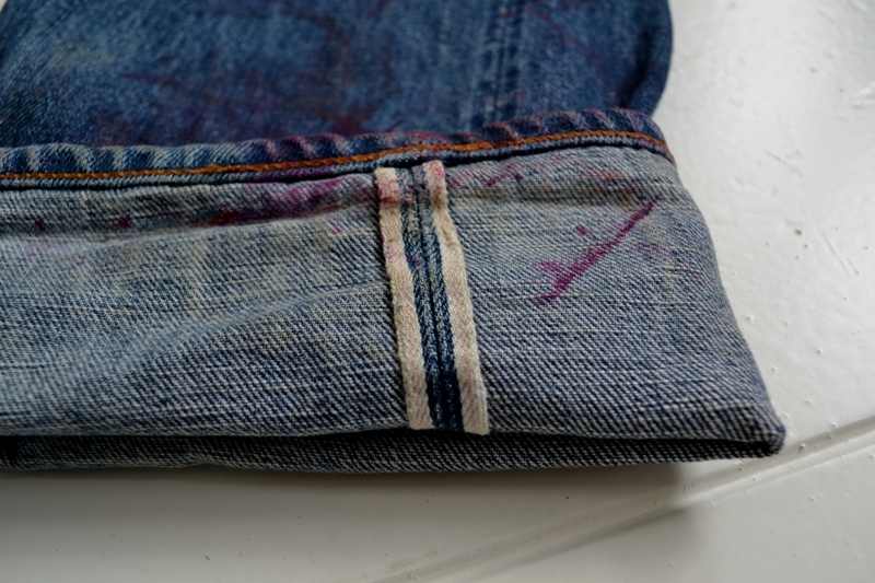 selvage selvage sunday long john blog raw denim jeans self-edge fabric japan kurabo cone mills usa turn-up rock and roll fifties authentic style japan (6)