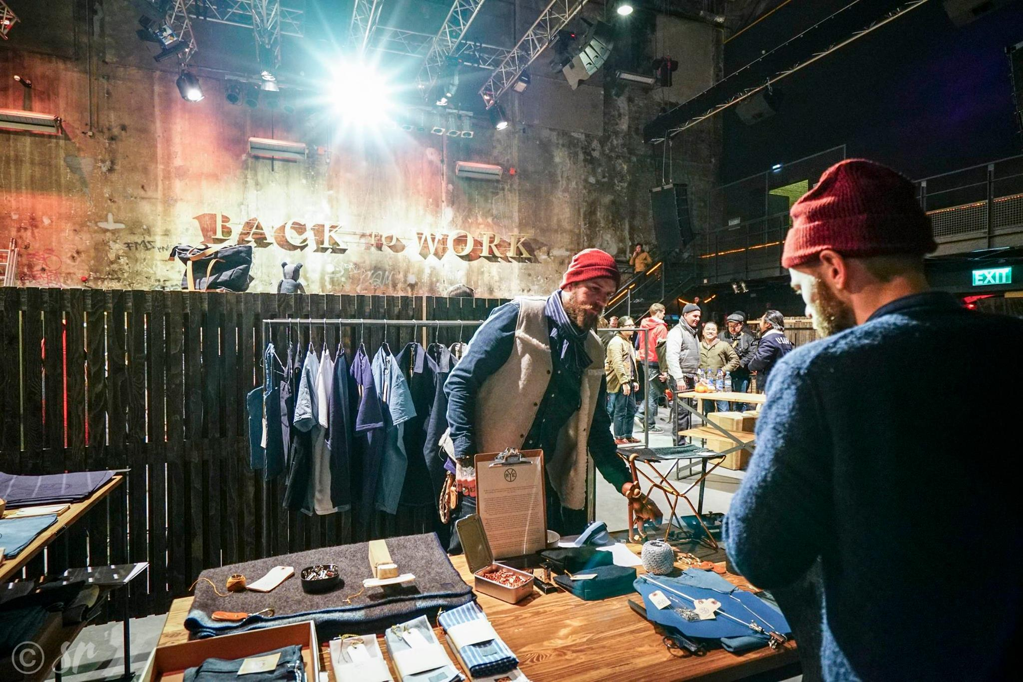 selvedge run fair event berlin berlijn long john blog 2016 january jeans denim boots footwear authentic clothing selvage exhibition (14)