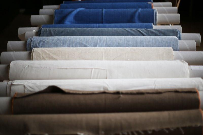 seven senses fabrics handwoven handspun natural indigo kingpins 2016 amsterdam denim days long john blog denim jeans fabrics selvage selvedge (13)