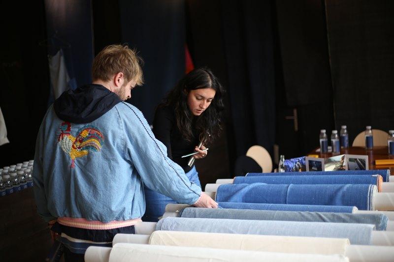 seven senses fabrics handwoven handspun natural indigo kingpins 2016 amsterdam denim days long john blog denim jeans fabrics selvage selvedge (14)