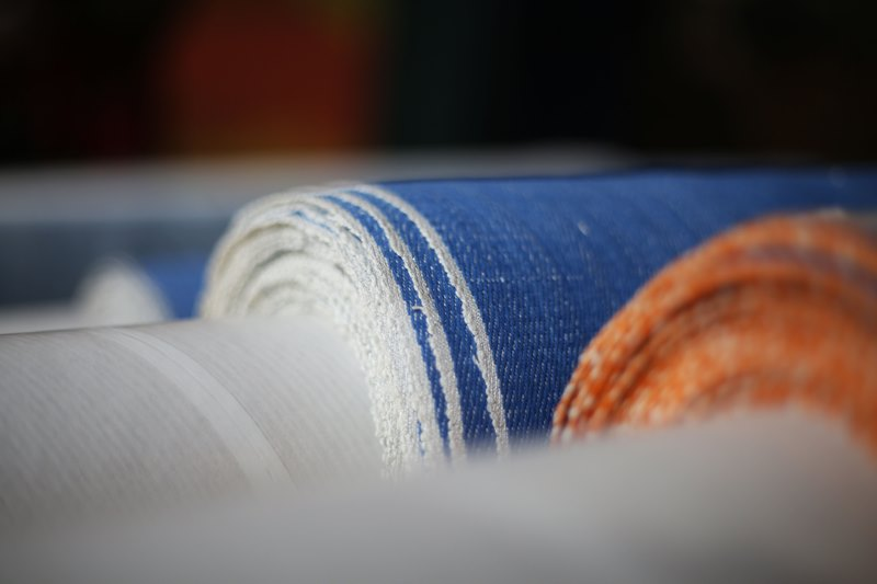 seven senses fabrics handwoven handspun natural indigo kingpins 2016 amsterdam denim days long john blog denim jeans fabrics selvage selvedge (15)