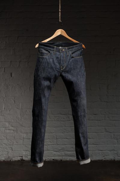 shock oe atelier shockoeatelier long john blog rigid unwashed raw selvage selvedge usa handmade straight fit skinny blue indigo spijkerbroek blauw shockoedenim waistband pocket  (2)