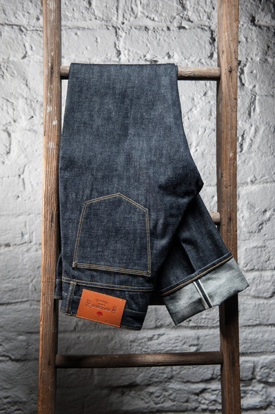 shock oe atelier shockoeatelier long john blog rigid unwashed raw selvage selvedge usa handmade straight fit skinny blue indigo spijkerbroek blauw shockoedenim waistband pocket  (3)