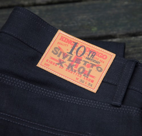 sivlette store koi kings of indigo clothing long john blog black collab collaboration special 2015 jeans denim shirt bandana selvage selvedge (7)