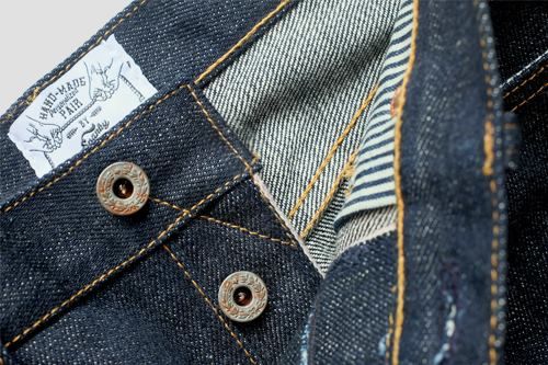 spanky denim long john blog jeans selvage indonesia japan usa fabrics selvedge raw rigid blue indigo wornout vintage leather  (3)