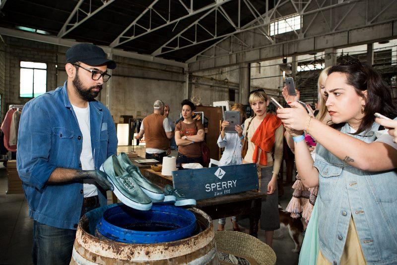 sperry footwear shoes long john blog blue indigo denimboulevard milan natural dipping dip event 2016 jeans denim special (8)
