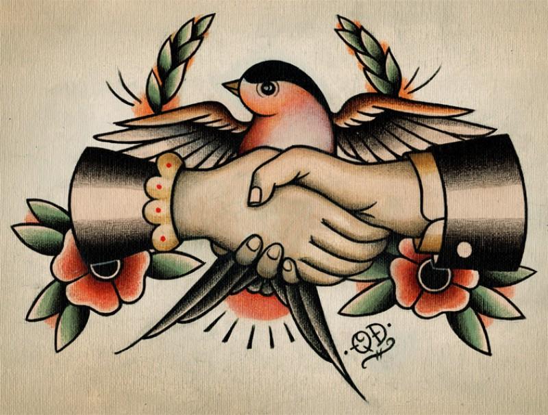 Art for Traditional americana tattoos