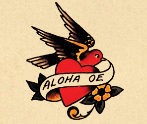 sailor jerry heart arrow  Sailor Jerry Tattoos