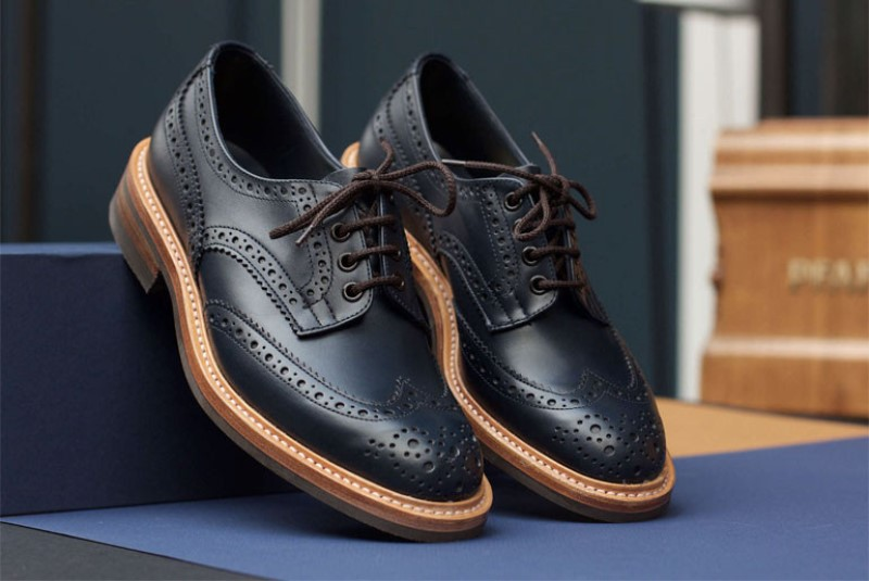 tenuedenimes tenue de nimes long john blog trickers footwear shoes uk collab collaboration blue indigo dandy handmade leather goodyear welted construction boots 2015 shop store amsterdam nl holland (5) - kopie