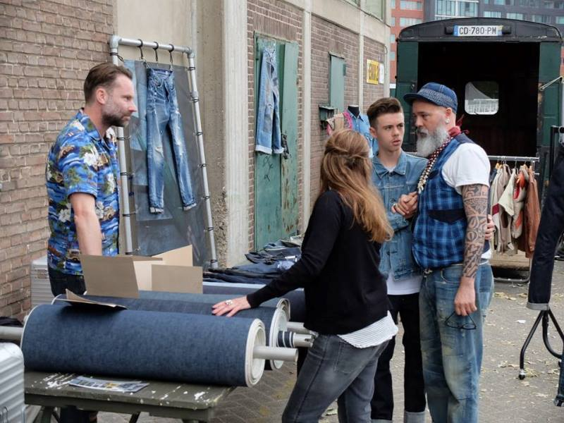 the denim ride rotterdam long john blog paul van der blom jeans denim bikes fietsen event festival brands merken haven stad city blauw indigo bob hoogland benzak tulp kurt mr ed selvage selvedge (13)