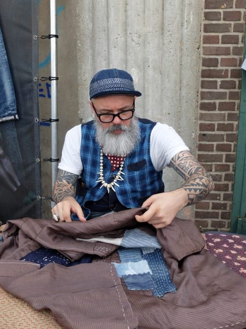 the denim ride rotterdam long john blog paul van der blom jeans denim bikes fietsen event festival brands merken haven stad city blauw indigo bob hoogland benzak tulp kurt mr ed selvage selvedge (17)