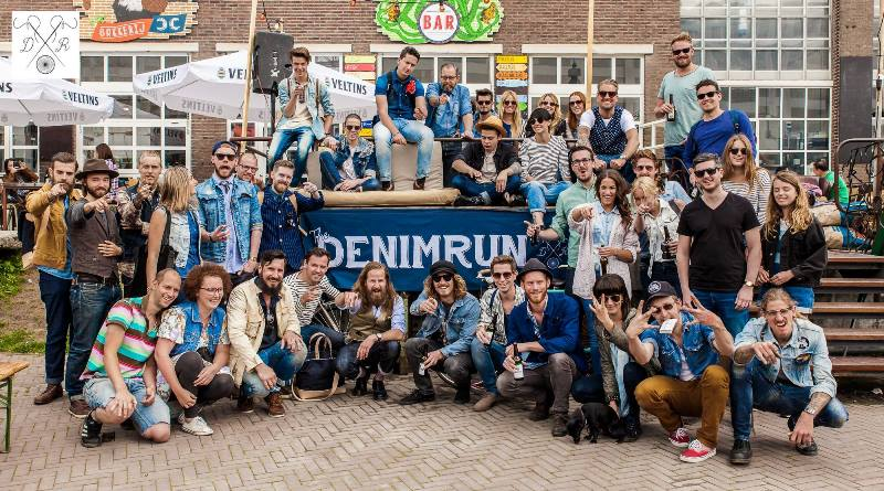 the denim run eindhoven long john blog wing mok emiel gerardu bicycle fietsen denim jeans strijp-s amsterdam 2015 15 event special drinks festival bikes blauw blue indigo (6)