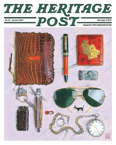 the heritage post magazine long john blog uwe van afferden mag book authentic lifestlye germany shop store