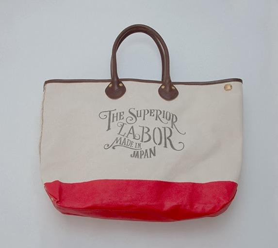 the superior labor japan bags totebags long john blog handmade canvas dipped painted stamp craftsmanship  (2)