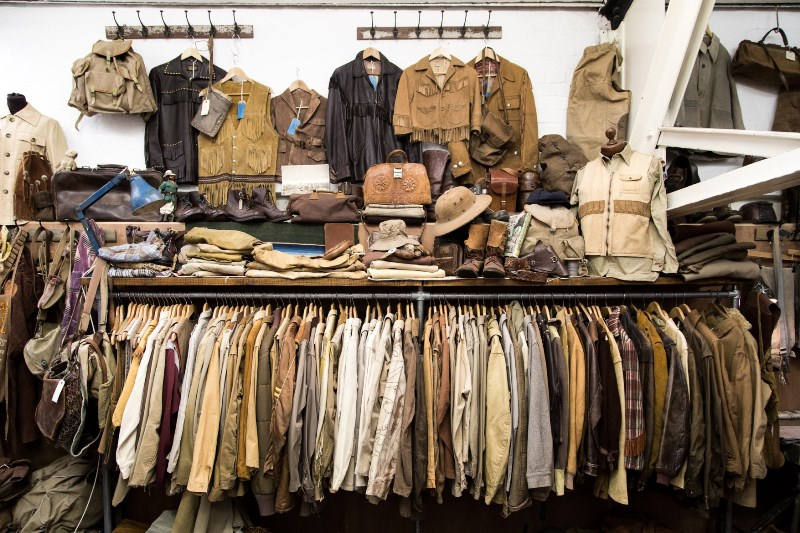 the vintage showroom london uk long john blog clothing workwear military jeans denim clothes archive collectors (2)