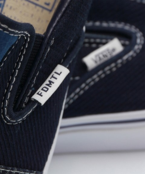 vans shoes footwear fdmtl japan indigo blue raw jeans denim selvage selvedge sneakers anniversary box 2015 limited edition patchwork patch work boro sashiko (3)