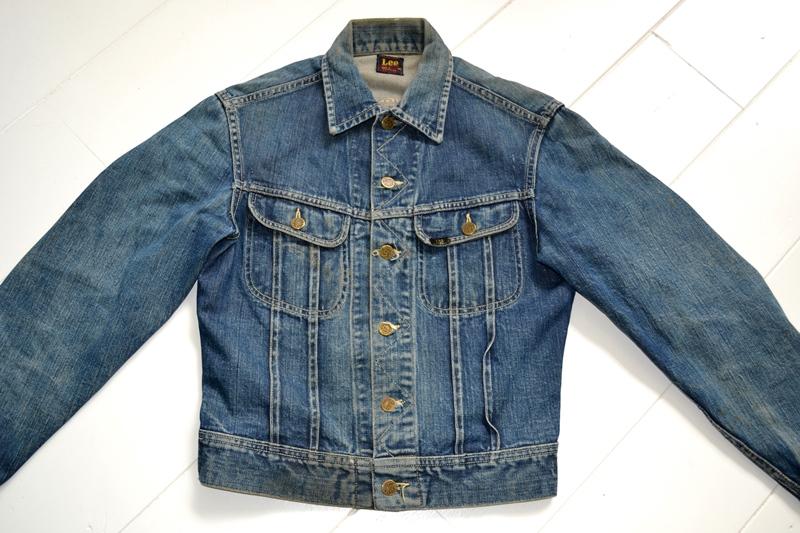 vintage lee 101-J jacket long john blog 1950 original cowboys cowboy jack treasure denim usa us spijkerjas oud 101 golden red label tag buttons denimjack denimhead eye cat  (1)