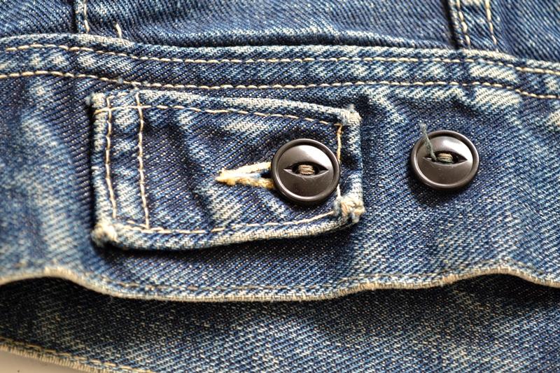 vintage lee 101-J jacket long john blog 1950 original cowboys cowboy jack treasure denim usa us spijkerjas oud 101 golden red label tag buttons denimjack denimhead eye cat  (12)