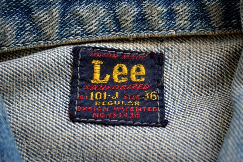 vintage lee 101-J jacket long john blog 1950 original cowboys cowboy jack treasure denim usa us spijkerjas oud 101 golden red label tag buttons denimjack denimhead eye cat  (3)