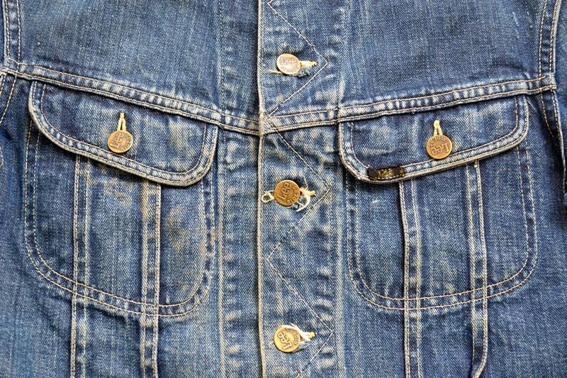 vintage lee 101-J jacket long john blog 1950 original cowboys cowboy jack treasure denim usa us spijkerjas oud 101 golden red label tag buttons denimjack denimhead eye cat  (6)