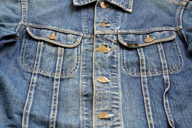 vintage lee 101-J jacket long john blog 1950 original cowboys cowboy jack treasure denim usa us spijkerjas oud 101 golden red label tag buttons denimjack denimhead eye cat  (8)