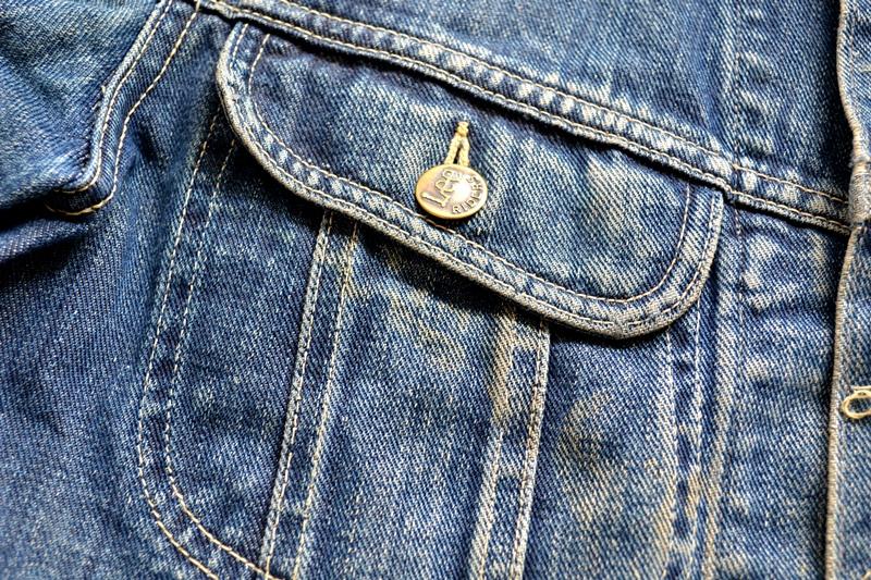 vintage lee 101-J jacket long john blog 1950 original cowboys cowboy jack treasure denim usa us spijkerjas oud 101 golden red label tag buttons denimjack denimhead eye cat  (9)