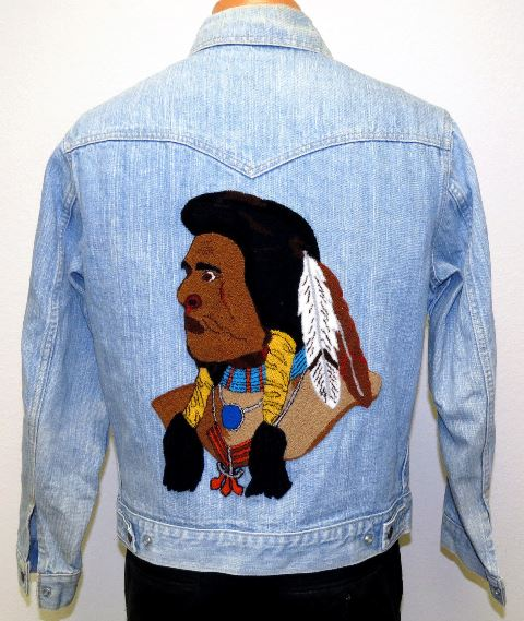 vintage levis jacket denim original indian (2)