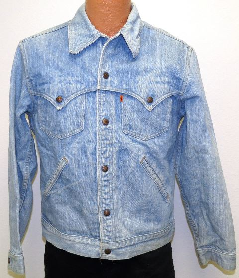 vintage levis jacket denim original indian (4)