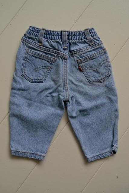 Vintage 'Levi's Baby Jeans' With Orange Tab Part 1 - Long John