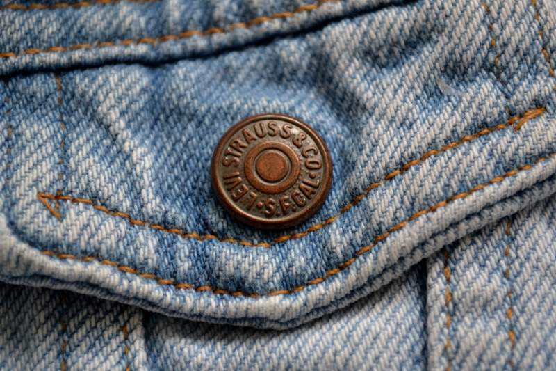 vintage levi's jeans jack baby long john blog orange tab 5 pocket right hand fabric light blue zipper usa levi strauss non-selvage selvedge buttons treasure hunting private collection wouter munnichs u (5)