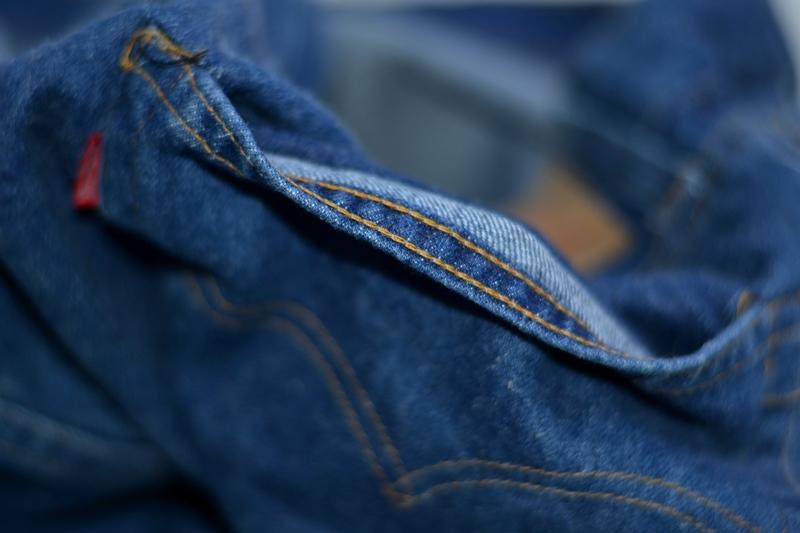 vintage levis jeans long john blog original shrink to fit size 54 usa redline selvage selvedge indigo blue america levi strauss  (11)