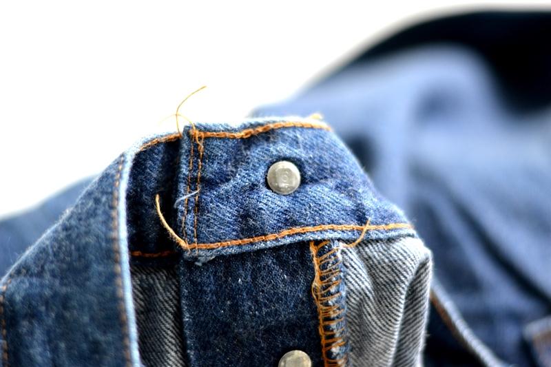 vintage levis jeans long john blog original shrink to fit size 54 usa redline selvage selvedge indigo blue america levi strauss  (8)