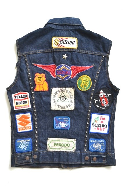 vintage levis jeans trucker big e jacket long john blog archive biker suzuki usa collectors 1968 (12)