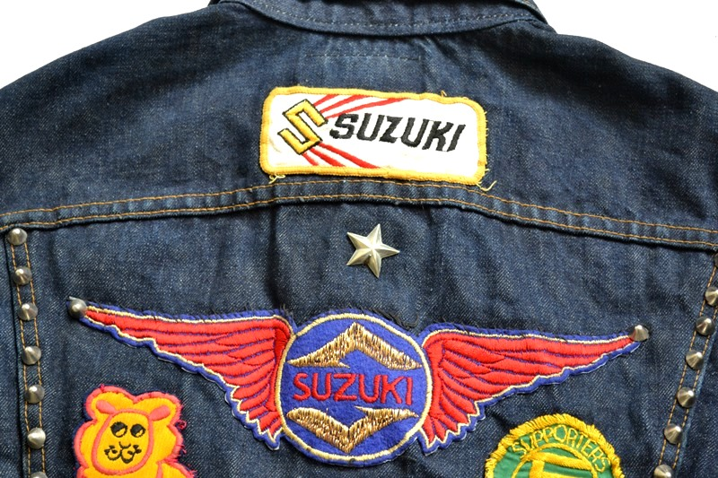 vintage levis jeans trucker big e jacket long john blog archive biker suzuki usa collectors 1968 (13)