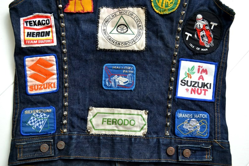 vintage levis jeans trucker big e jacket long john blog archive biker suzuki usa collectors 1968 (15)